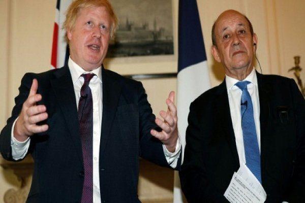 وزرای خارجه انگلیس و فرانسه درباره برجام دیدار کردند