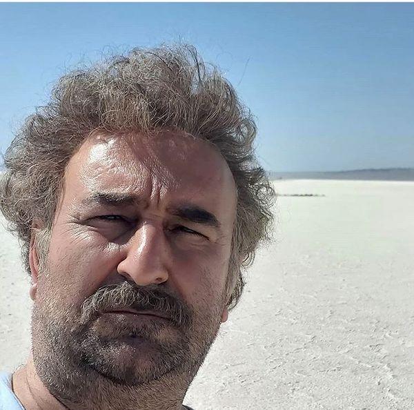 مهران احمدی با موهای فر + عکس