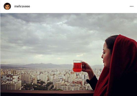 تفریح مهراوه شریفی نیا در بهترین سه ماه سال+عکس