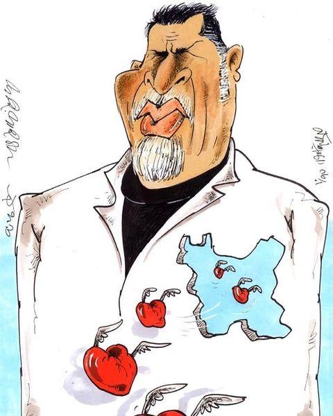 کاریکاتور / باز هم شیرینکاری تلویزیون؛ اینبار علیه علی دایی!