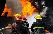 مهار آتش در فضای سبزی به وسعت ۲ هزار متر