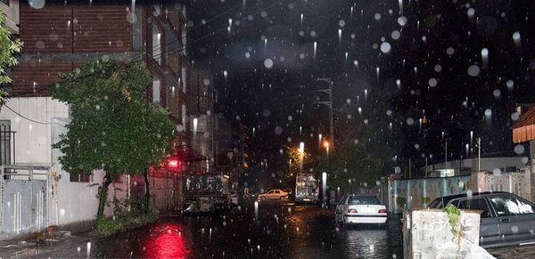 باران شدید در راه کشور