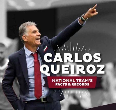 نگاهی آماری به کارنامه کارلوس کی روش در بازی های ملی