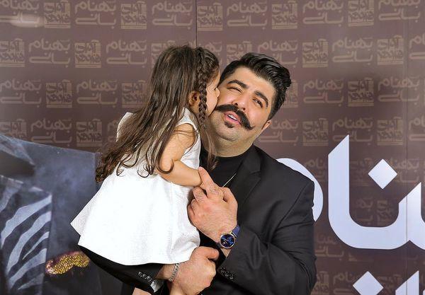 بوسه عاشقانه بهنام بانی و خواهرزاده اش + عکس