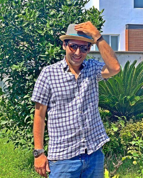 حمید گودرزی در شمال + عکس