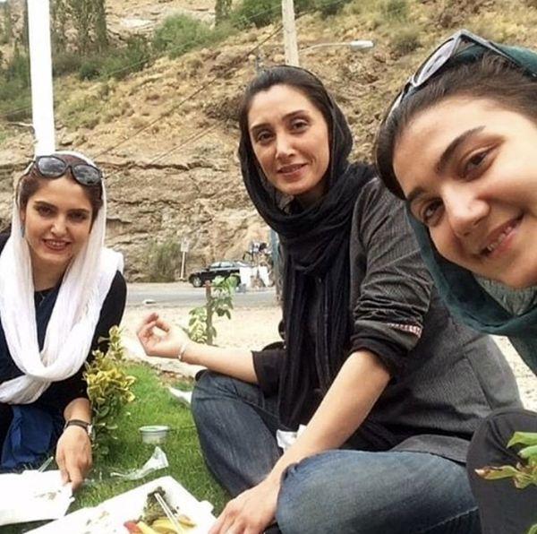 گشت وگذار هدیه تهرانی با دوستانش + عکس