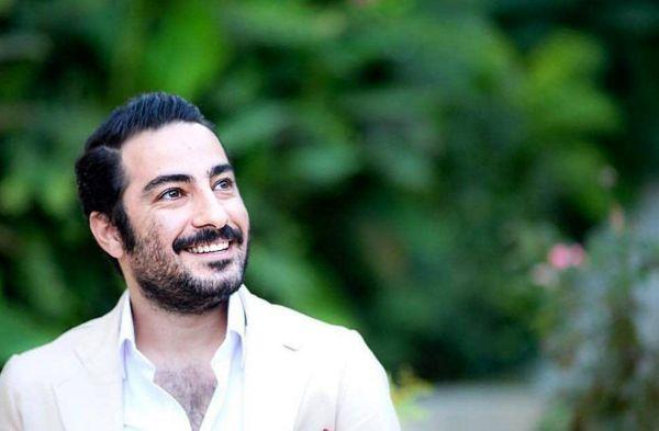 نوید محمدزاده با جورابهای نارنجی سوژه شد! +عکس
