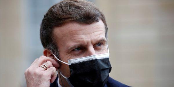 رئیس جمهور فرانسه کرونا گرفت