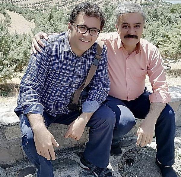 شهرام عبدلی در کنار بازیگر معروف + عکس