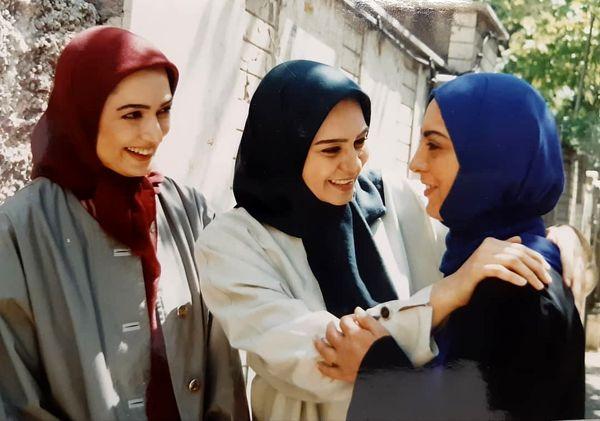 خاطره بازی افسون افشار با سریال دختران