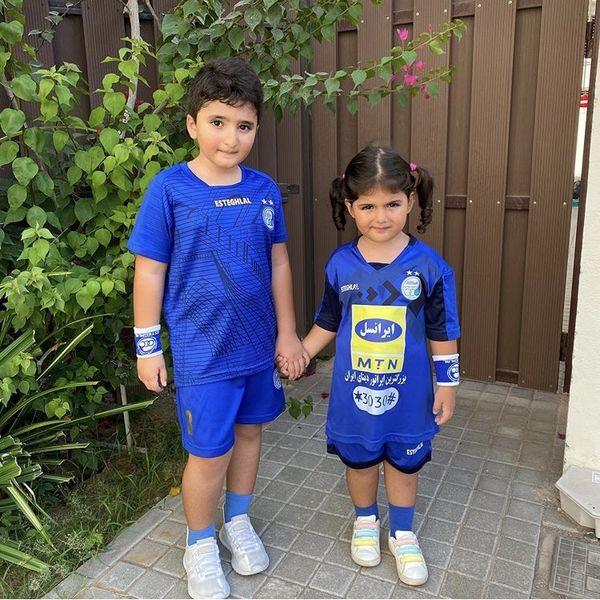 بچه های استفلالی شیلا خداداد + عکس