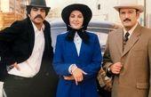 لاله اسکندری و آقایون بازیگر در یک قاب قدیمی+ عکس