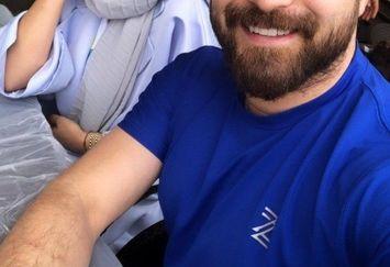 سفر بابک جهانبخش و همسرش +عکس