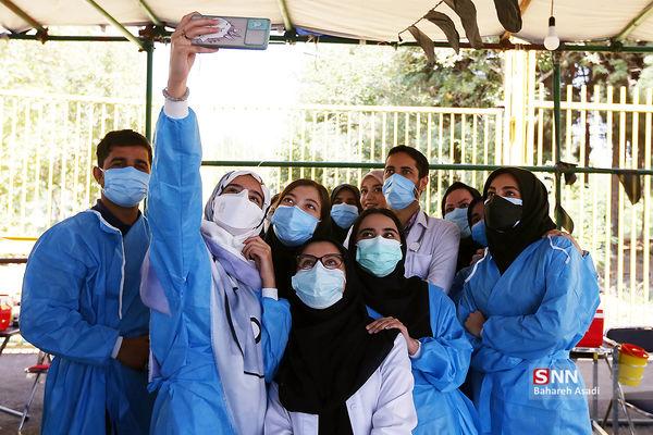 یک عکس حال خوب کن از مدافعان سلامت
