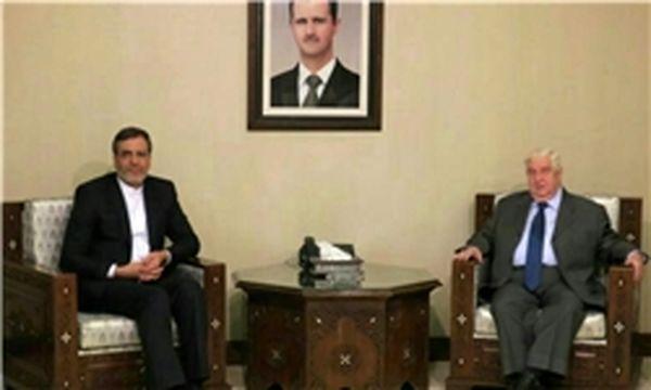 ولید معلم: حضور ایران، روسیه و حزبالله قانونی است