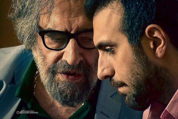علاقه پولاد کیمیایی به پدر کارگردانش+عکس