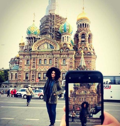 مارال فرجاد و معماری بی نظیر سن پطرزبورگ+عکس