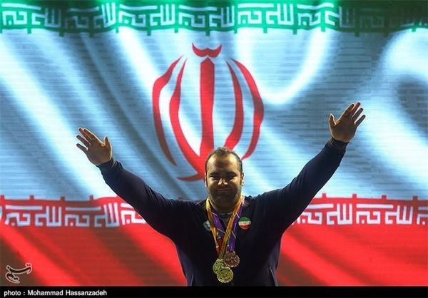 حضور مدالآوران المپیک در پیادهروی اربعین