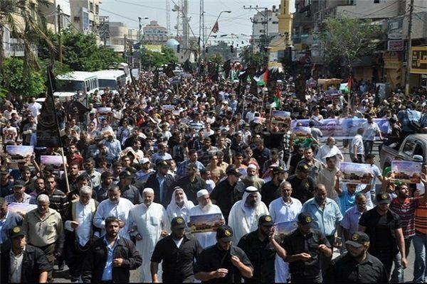 هزار زخمی در حملات صهیونیستها به تظاهرات بزرگ «بازگشت»