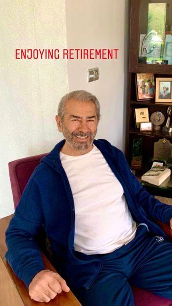 فرامرز قریبیان در خانه اش + عکس