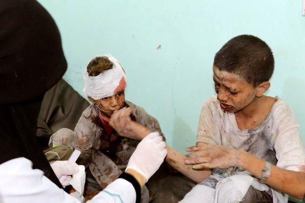 مشارکت آمریکا در کشتار اتوبوس مدرسه یمنی