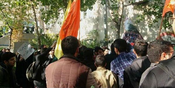دانشجویان درباره اتفاقات امروز دانشگاه امیرکبیر چه گفتند؟