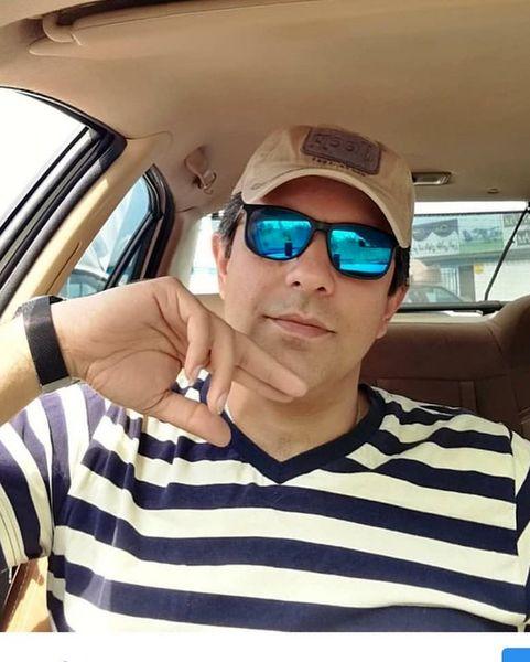 برادر الیکا عبدالرزاقی در گشت و گذار+عکس
