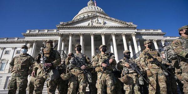 استقرار گارد ملی در پایتخت آمریکا تا 3 ماه دیگر تمدید شد