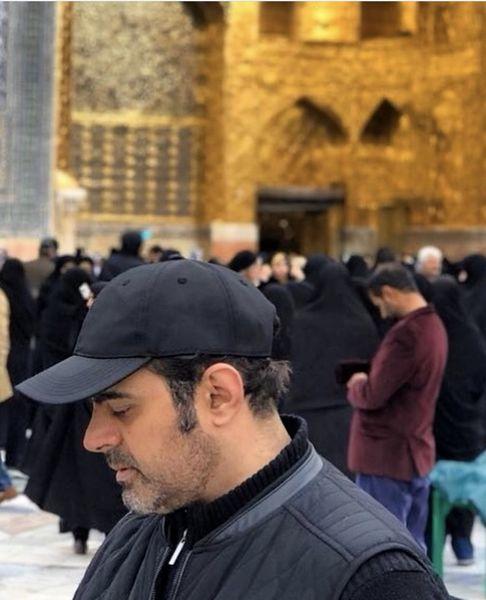 رضا مولایی در مشهد + عکس