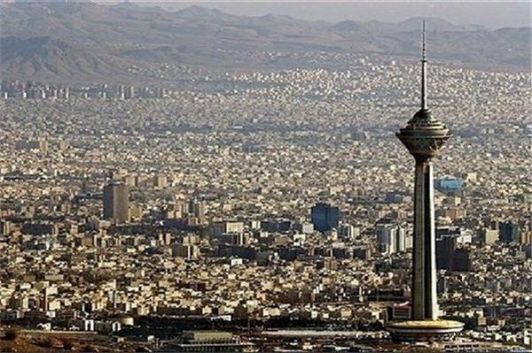 نگاه به تهران از بالای برج میلاد+عکس