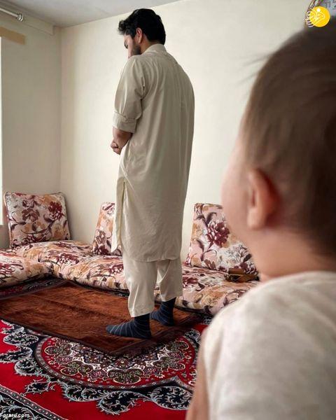 تصویری جدید از احمد مسعود