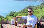 تفریح مرتضی پورعلی گنجی در ترکیه
