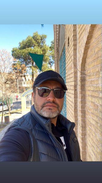 سلفی جدی امیرمحمد زند + عکس