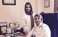 شبنم قلی خانی و خواهر خانم دکترش+عکس