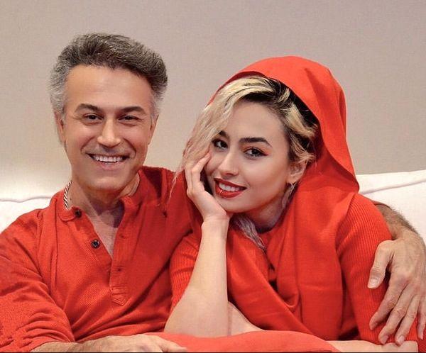 دانیال حکیمی و دختر بزرگش + عکس