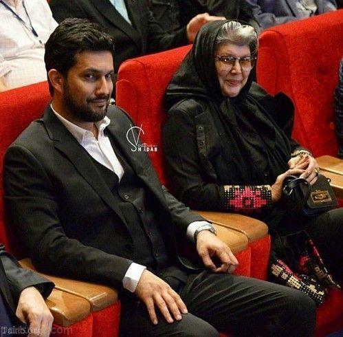 حامد بهداد و مادر ژیگولش+عکس