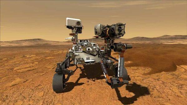 فرود موفقیت آمیز مریخ نورد استقامت بر سیاره سرخ+ فیلم