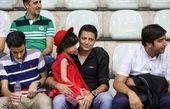 فوتبال بازی کردن کودکان کار با حضور مرجانه گلچین و علیرضا فغانی