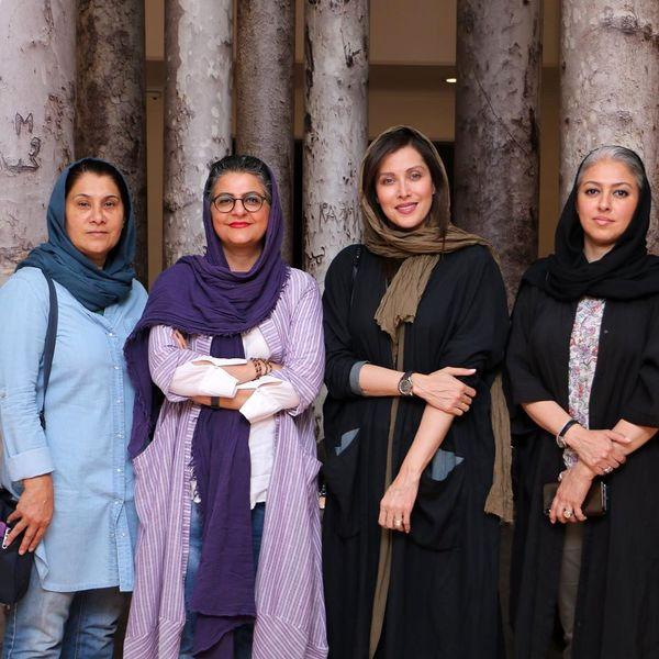 مهتاب کرامتی در اکران فیلم دوست روزنامه نگارش+عکس