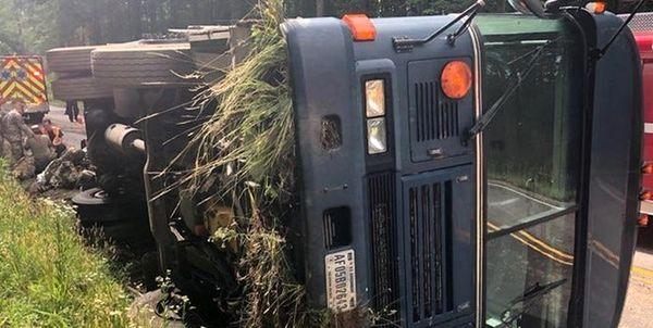 حادثه مشکوک در ویرجینیا و جراحت 14 نظامی آمریکایی
