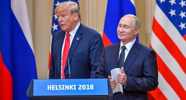 دیدار مجدد ترامپ و پوتین در هلسینکی