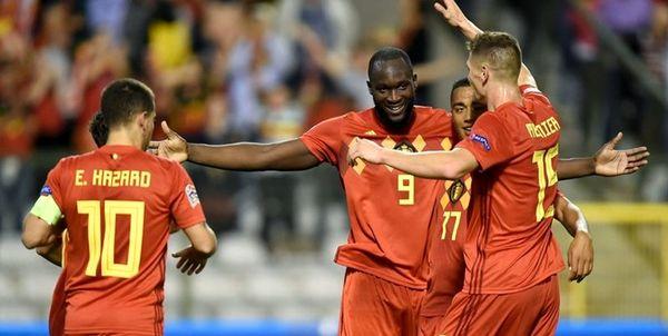 ترکیب بلژیک برای دیدار مقابل ایسلند اعلام شد