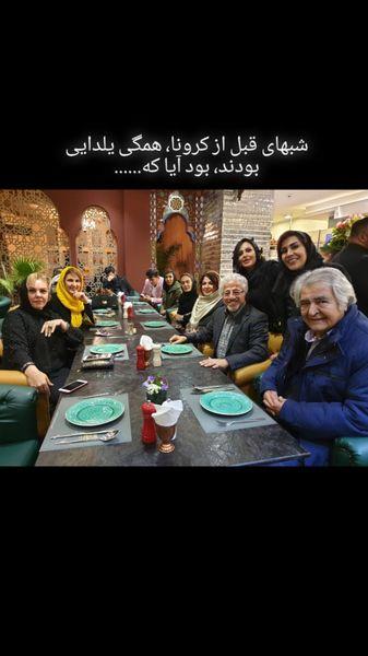 دورهمی علیرضا خمسه با دوستانش قبل از کرونا + عکس