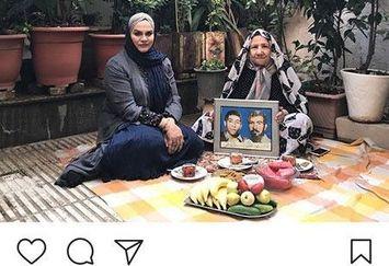 نرگس آبیار مهمان یک خانه بهشتی+عکس