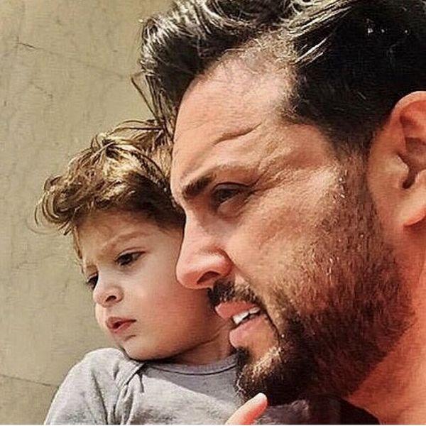 پدرام کریمی و پسر کوچولوی نازش + عکس