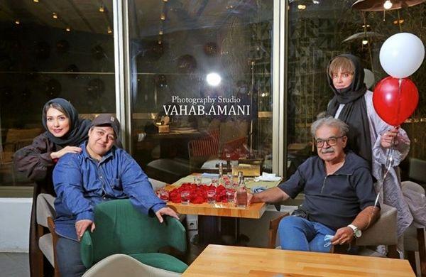 شراره رخام در کنار دوستان مشهورش + عکس