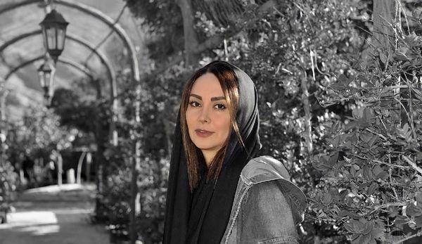 مریم خدارحمی در یک پارک عمومی + عکس