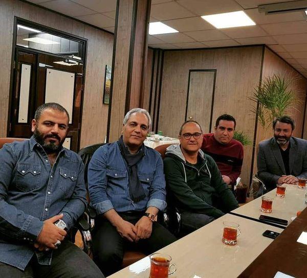 جلسه کاری مهران مدیری و رامبد جوان
