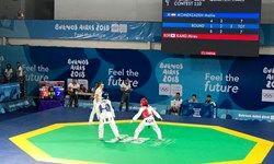 برق طلای المپیک بر سینه خسروی