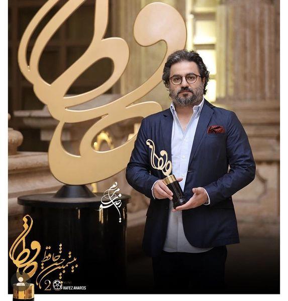 سرخ پوست برنده تندیس حافظ بهترین فیلم سینمایی + عکس